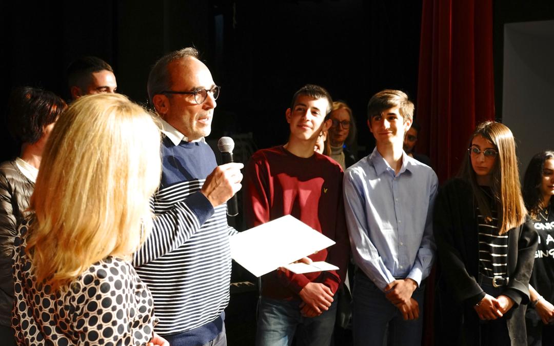 Leonardo Placido, studente di Pianeta Idea, vince il Premio Vivi Vejo Onlus